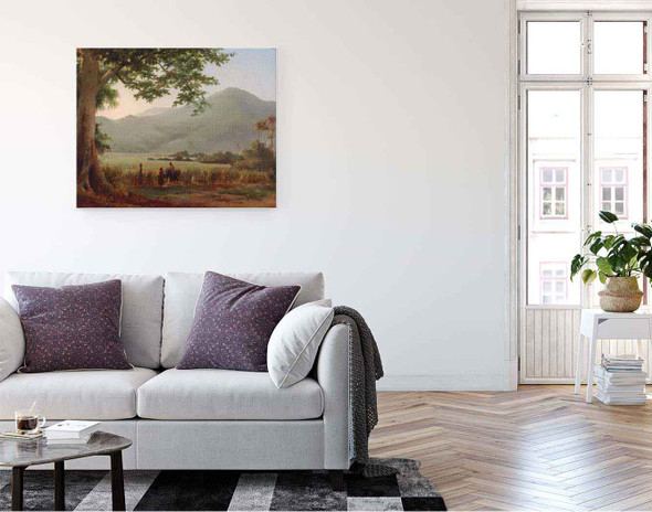 Antilian Landscape, St. Thomas By Camille Pissarro By Camille Pissarro