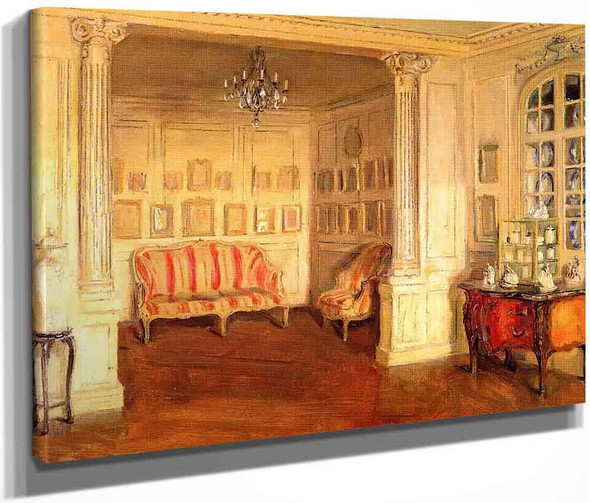 Apartment Of Pierre Decourcelle By Walter Gay