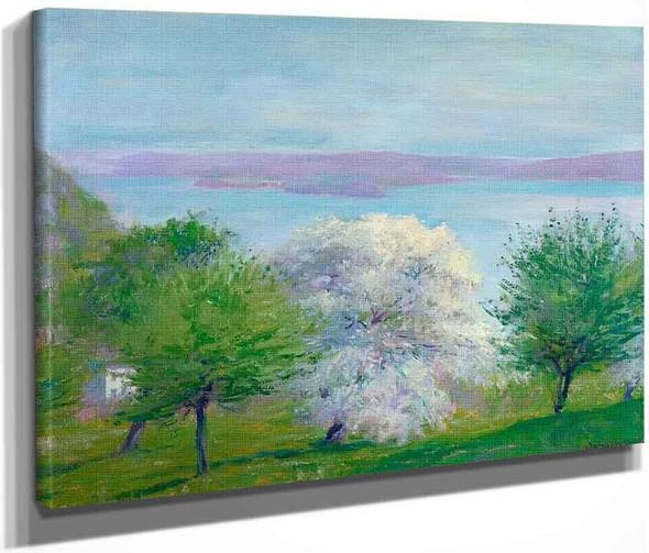 Apple Bloom By Robert Vonnoh