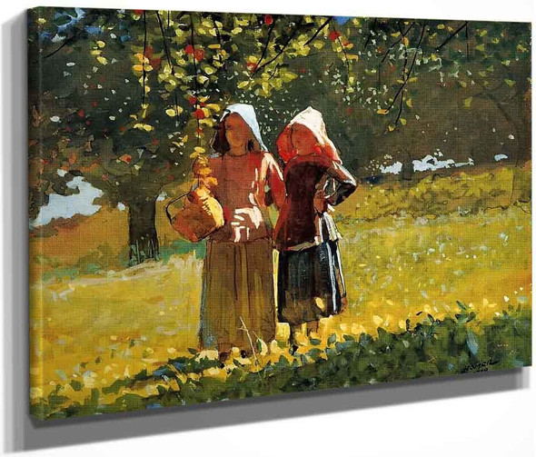 Apple Picking By Winslow Homer