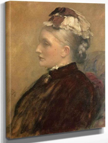 Alexandra Leighton  By Sir Frederic Lord Leighton