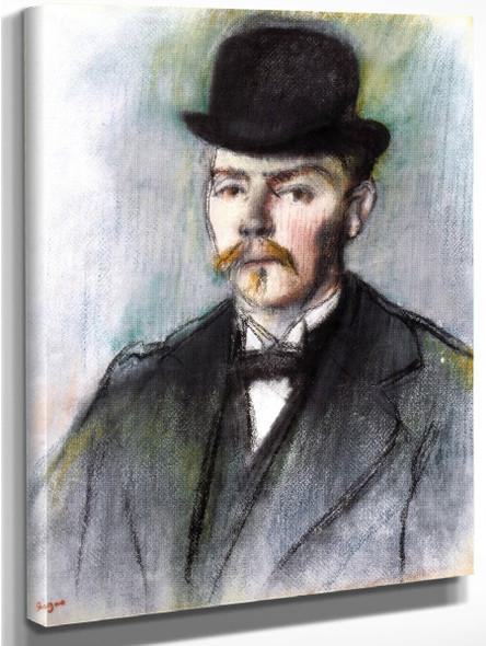 Alexis Rouart By Edgar Degas