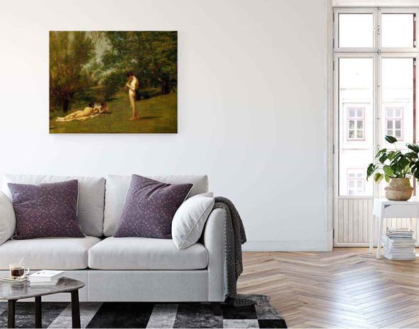 Arcadia By Thomas Eakins By Thomas Eakins