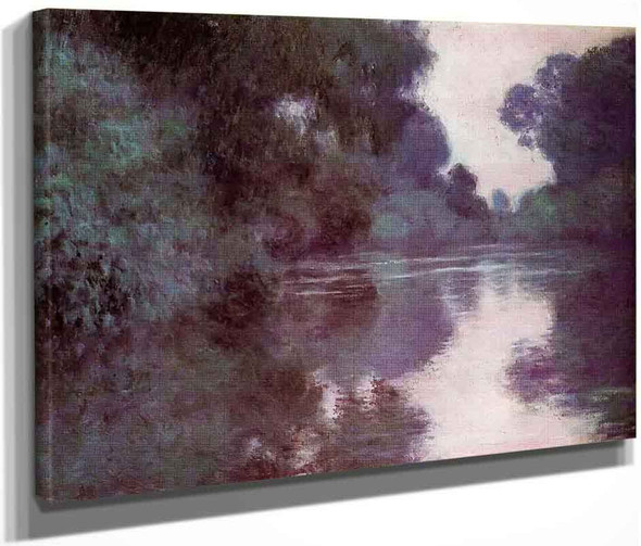 Arm Of The Seine Near Giverny1 By Claude Oscar Monet