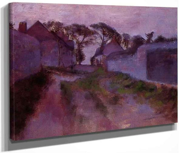 At Saint Valery Sur Somme By Edgar Degas By Edgar Degas