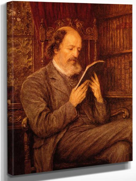 Alfred Lord Tennyson By Helen Allingham By Helen Allingham