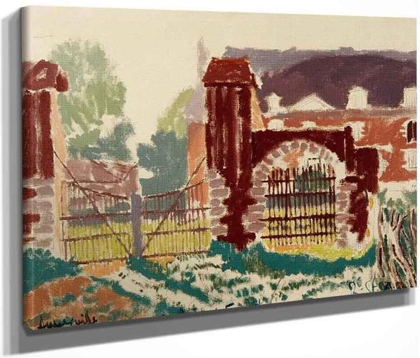 Auberville By Walter Richard Sickert By Walter Richard Sickert