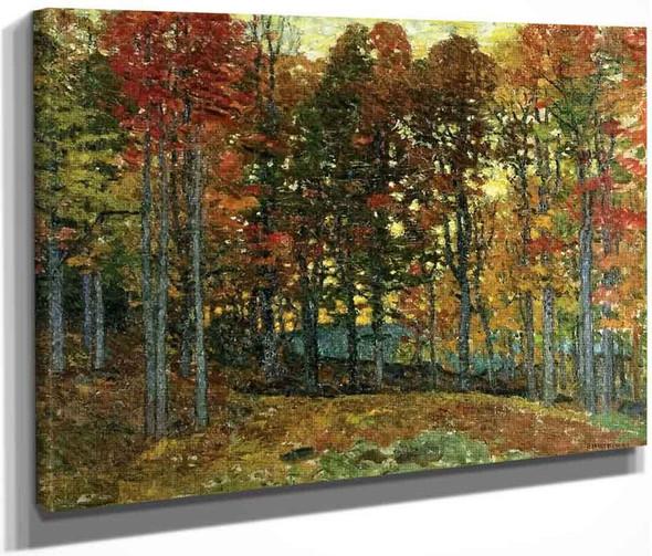 Autumn Jewels By John Joseph Enneking
