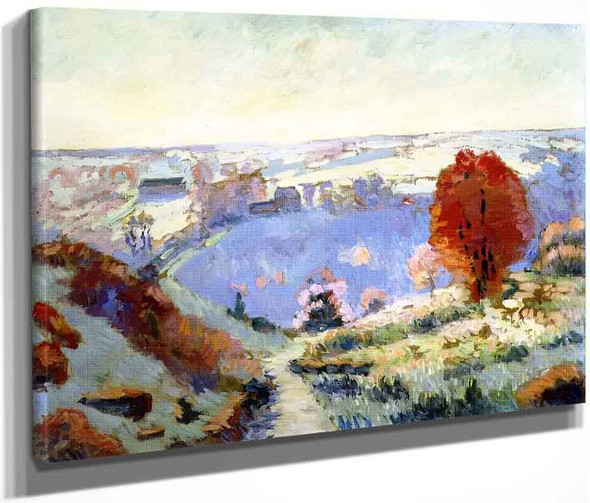 Autumn Landscape1 By Armand Guillaumin