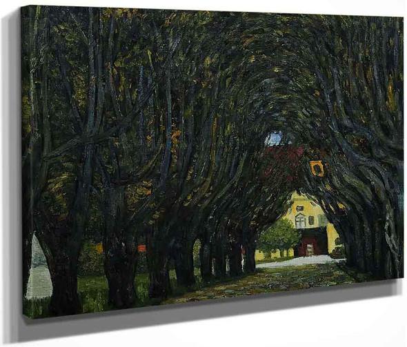 Avenue In Schloss Kammer Park By Gustav Klimt By Gustav Klimt