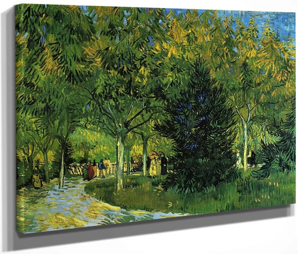 Avenue In The Park By Vincent Van Gogh