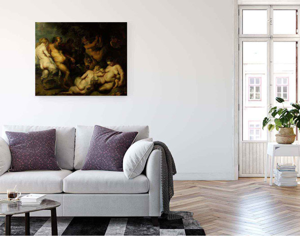Bacchanalia By Peter Paul Rubens By Peter Paul Rubens