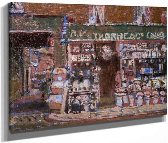 Barnsbury By Walter Richard Sickert By Walter Richard Sickert