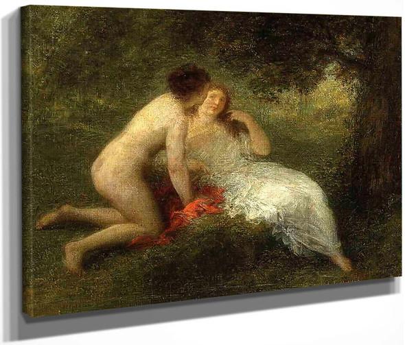 Bathers By Henri Fantin Latour By Henri Fantin Latour