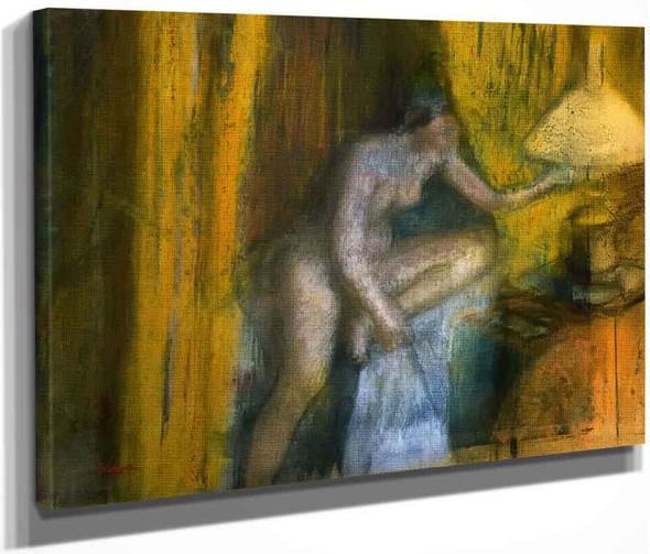 Bedtime By Edgar Degas By Edgar Degas