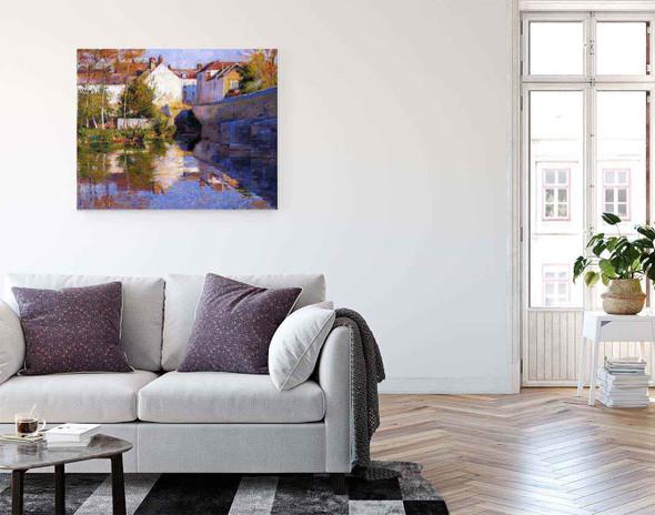 Beside The River  By Robert Vonnoh
