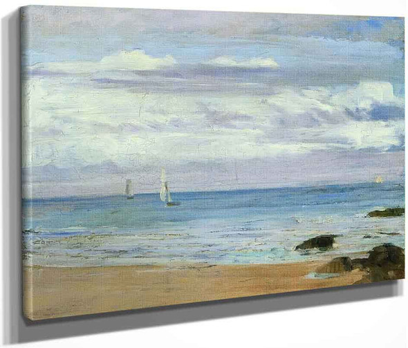 Blue And Silver Trouville By James Abbott Mcneill Whistler American 1834 1903