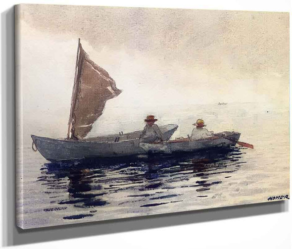 Boating Boys In Gloucester By Winslow Homer