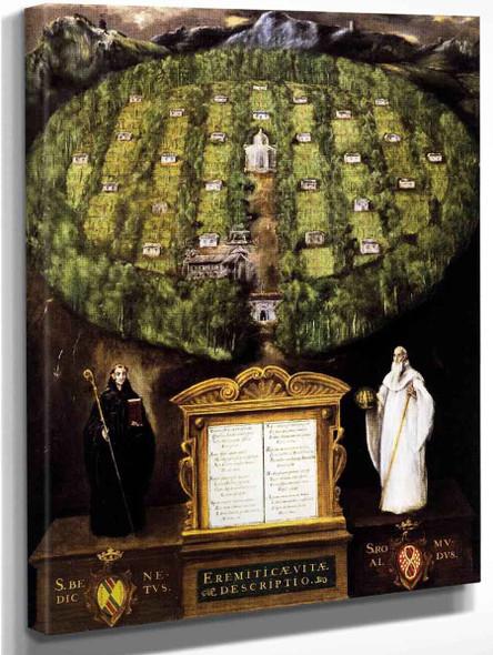 Allegory Of The Camaldolese Order By El Greco By El Greco