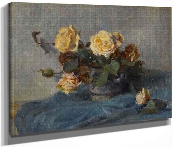 Bouquet De Roses By Paul Gauguin  By Paul Gauguin