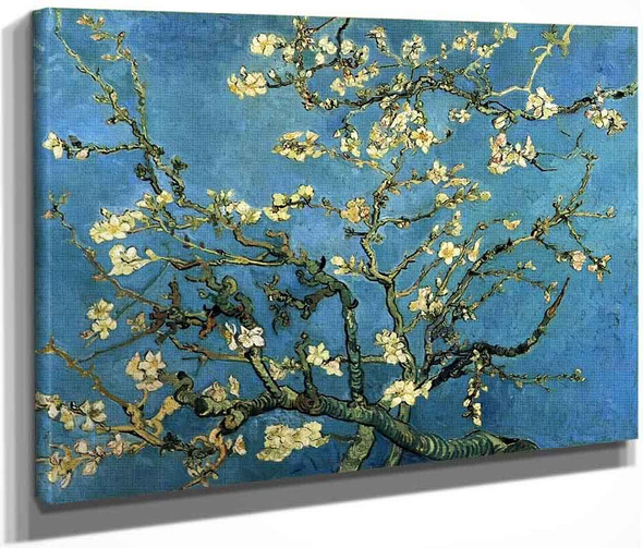 Branches With Almond Blossom By Vincent Van Gogh