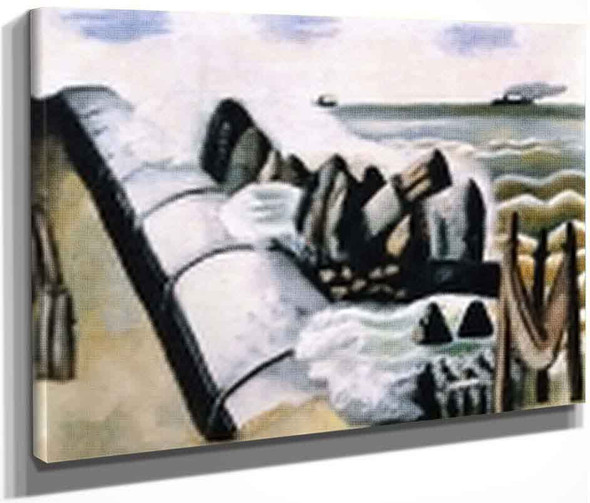 Breakers By Max Beckmann By Max Beckmann