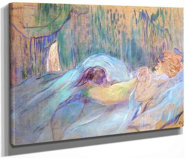 Brothel On The Rue Des Moulins Rolande By Henri De Toulouse Lautrec