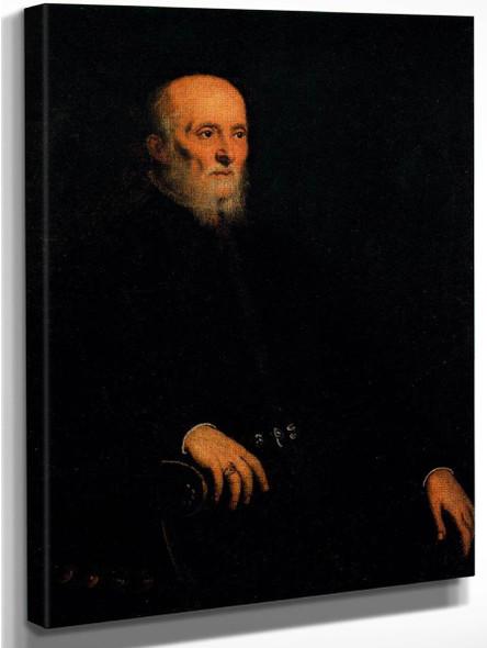 Alvise Cornaro By Jacopo Tintoretto