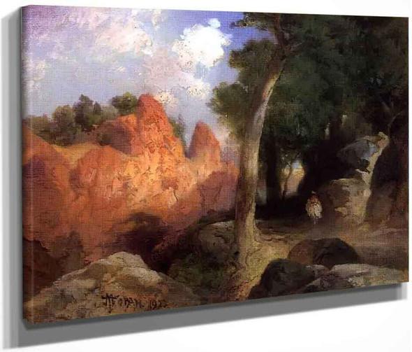 Canyon Of The Clouds By Thomas Moran By Thomas Moran