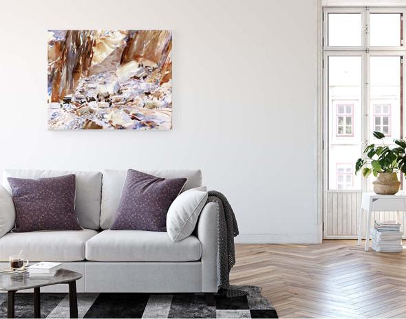 Carrara Quarry I By John Singer Sargent By John Singer Sargent