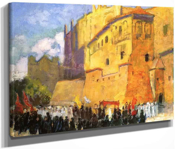 Cathedral Procession By Bernhard Gutmann
