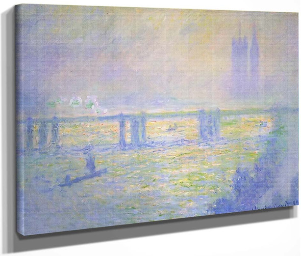 Charing Cross Bridge1 By Claude Oscar Monet