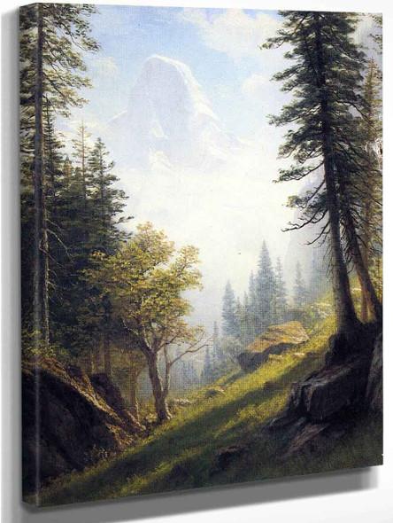 Among The Bernese Alps By Albert Bierstadt