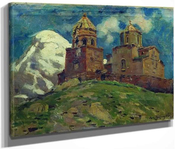 Church In The Caucasus By Apollinari Vasnetsov
