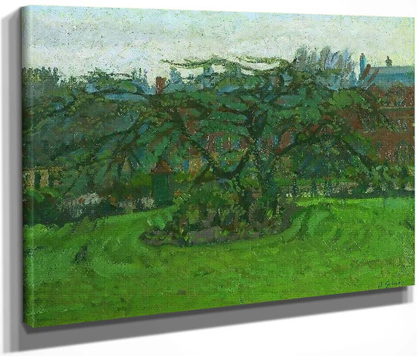 Clarence Gardens Nw, London By Harold Gilman