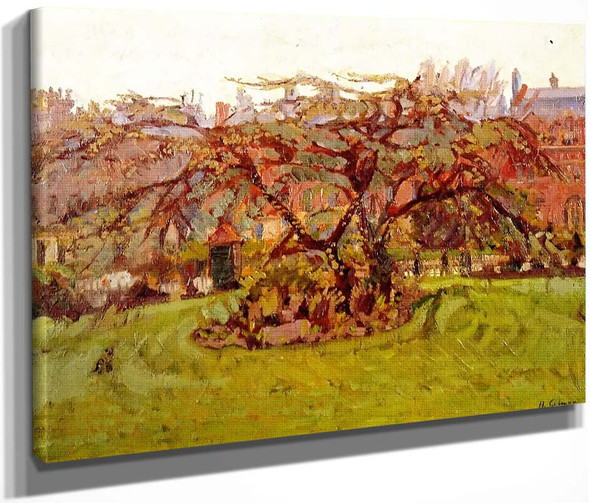 Clarence Gardens By Harold Gilman