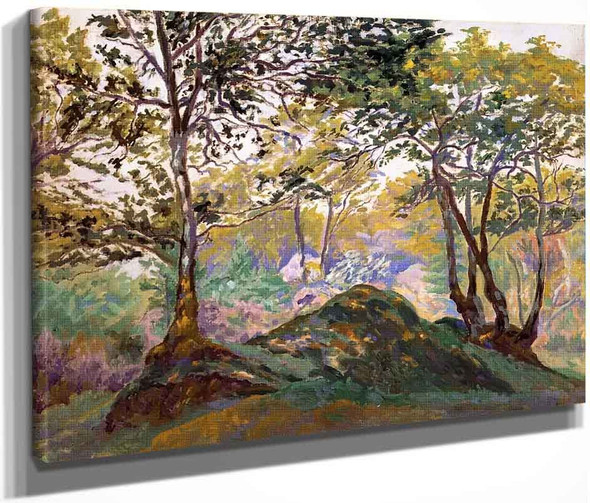 Clearing In Ecouves Forest By Paul Ranson