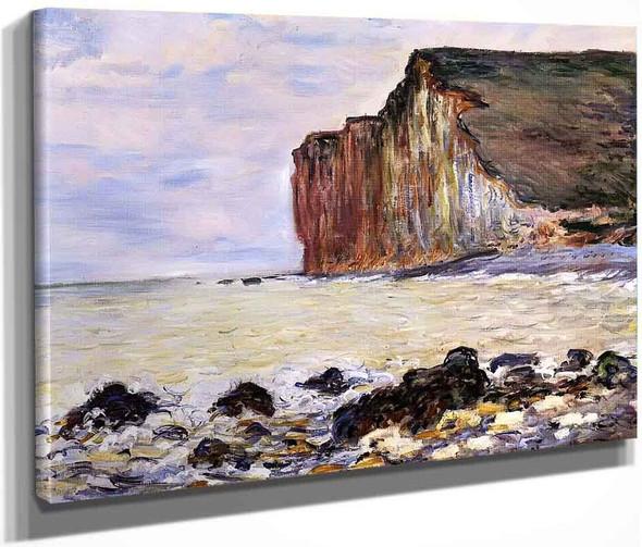 Cliffs Of Les Petites Dalles By Claude Oscar Monet