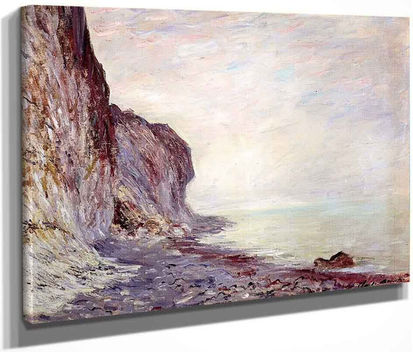 Cliff By Claude Oscar Monet