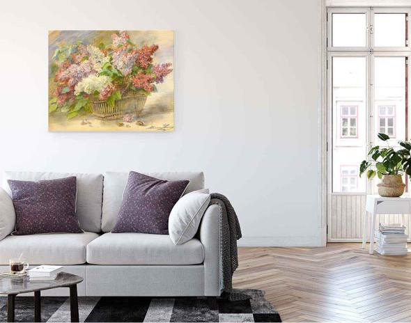 Corbeille De Lilacs Aux Hannetons By Madeleine Jeanne Lemaire