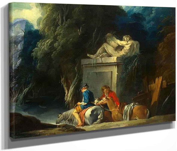 Crossing The Ford By Francois Boucher
