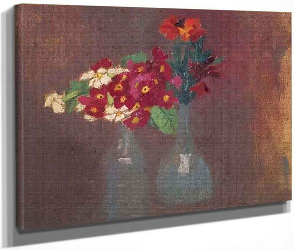 Deux Bouquets De Fleurs By Maurice Denis By Maurice Denis
