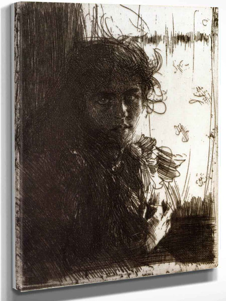 An Irish Girl By Anders Zorn