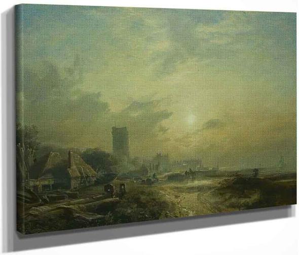 Dysart Harbour By Samuel Bough