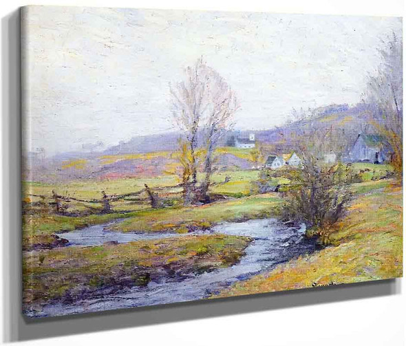 Early Spring, Pleasant Valley, Connecticut By Robert Vonnoh