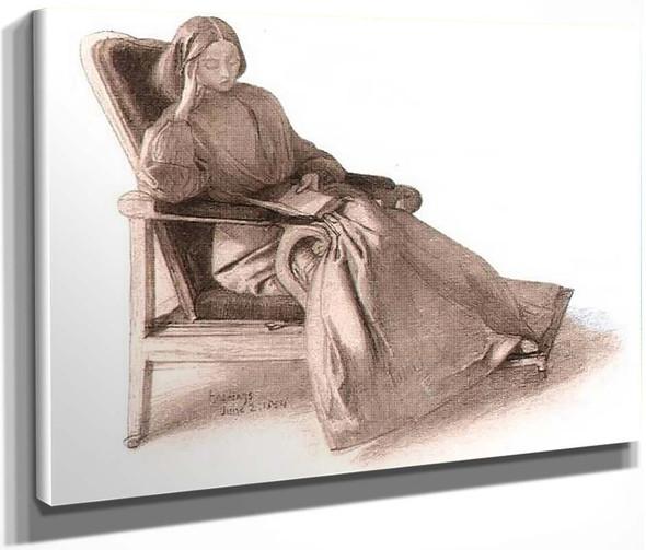 Elizabeth Siddal1 By Dante Gabriel Rossetti