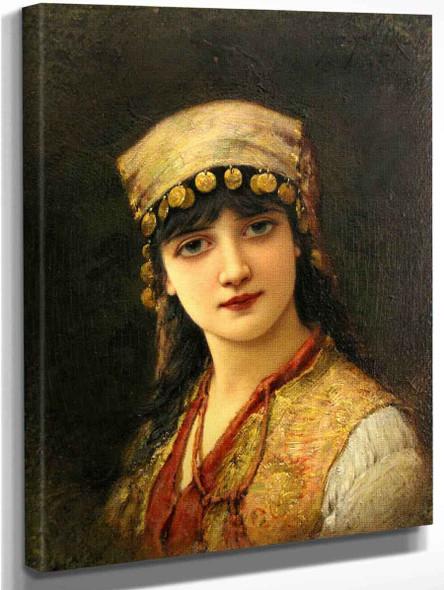 An Oriental Beauty 2 By Emile Eisman Semenowsky