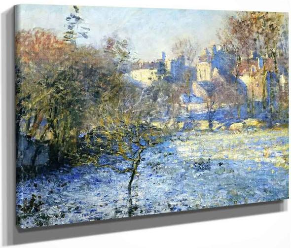 Frost By Claude Oscar Monet