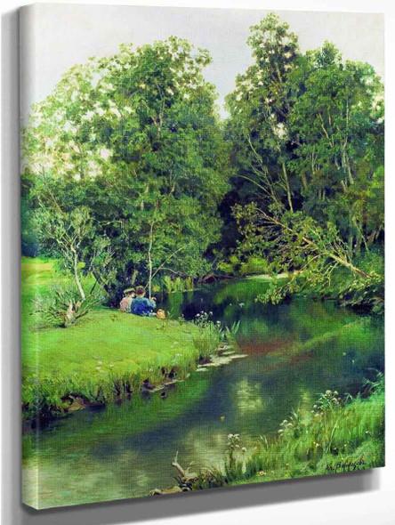 Anglers By Apollinari Vasnetsov