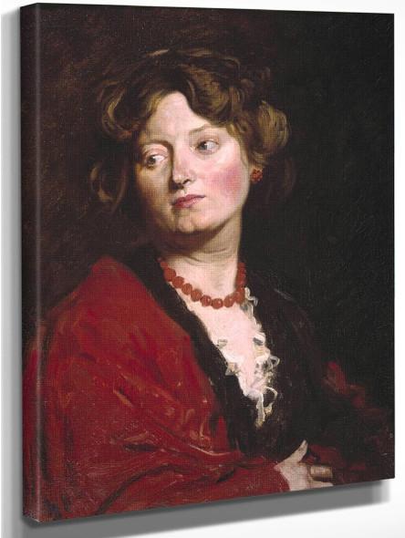 Anita By Sir William Orpen By Sir William Orpen